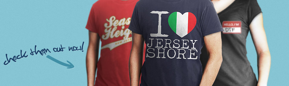 Jersey Shore Banner